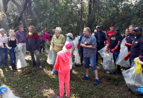 The Community in and around Centurion preparing for the cleanup