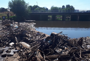 e-Waste removed from the Riverside Park Cleanup in the Hennops